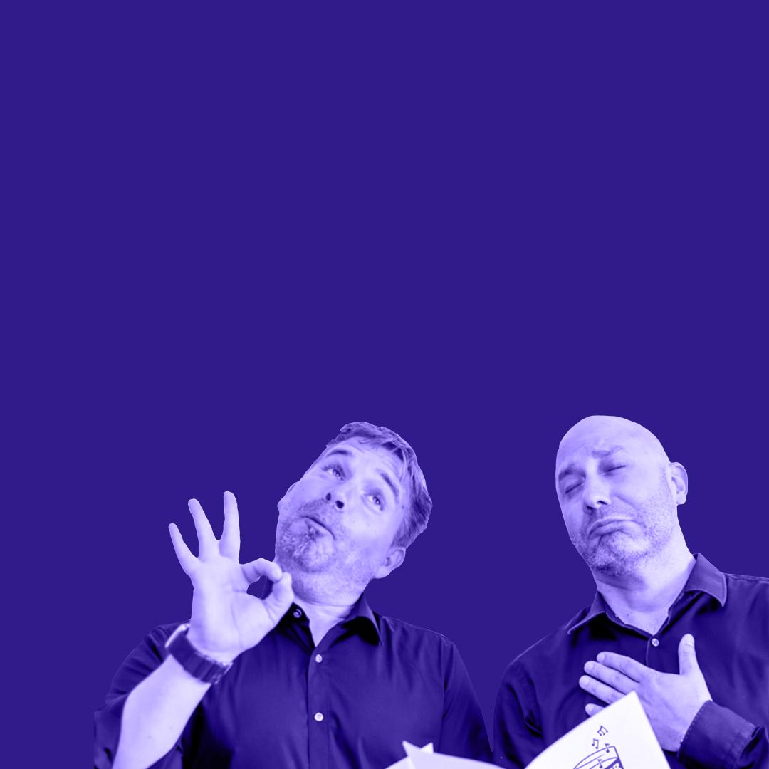 Eröffnung mit Martin und Thomas vom Mainzer Liederkranz